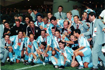 Celebrazio lazio 2000 champions for Championship league table 99 00